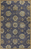 KAS Syriana 6024 Midnight Kashan Hand Tufted Area Rug