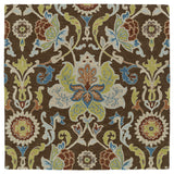 Kaleen Taj TAJ02-40 Chocolate Area Rug Square Shot