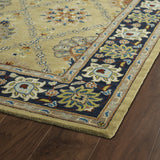 Kaleen Taj TAJ03-05 Gold Hand Tufted Area Rug