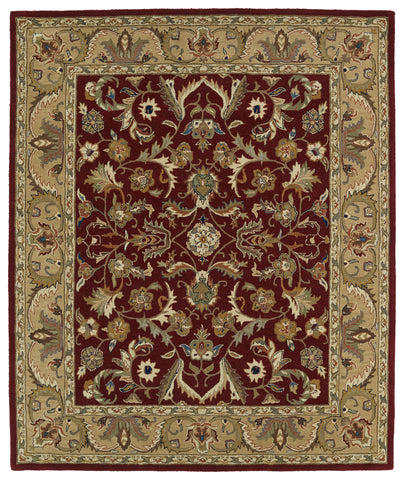 Kaleen Taj TAJ04-25 Red Area Rug main image