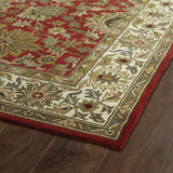 Kaleen Taj TAJ05-25 Red Hand Tufted Area Rug