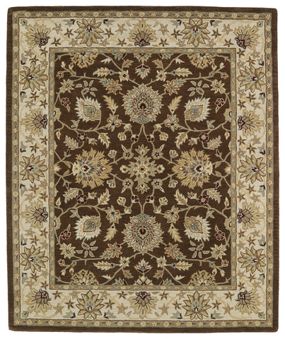 Kaleen Taj TAJ09-40 Chocolate Area Rug main image