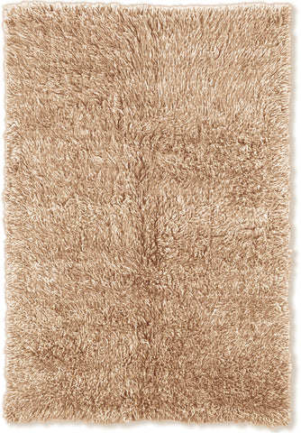 Linon New Flokati 1400 grams FLK-NFT Tan/Tan Area Rug main image