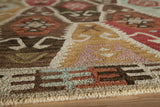 Momeni Tangier TAN-2 Multi Area Rug Closeup