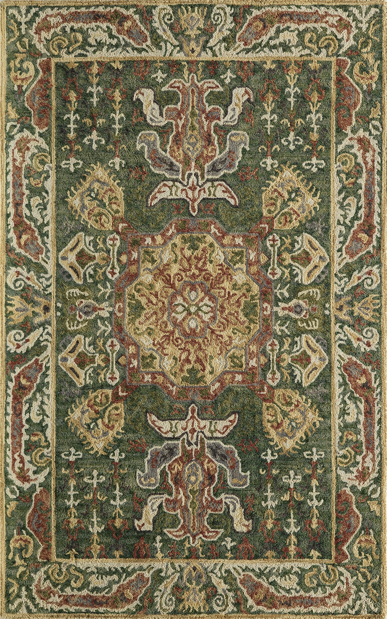 Momeni Tangier TAN25 Green Area Rug main image