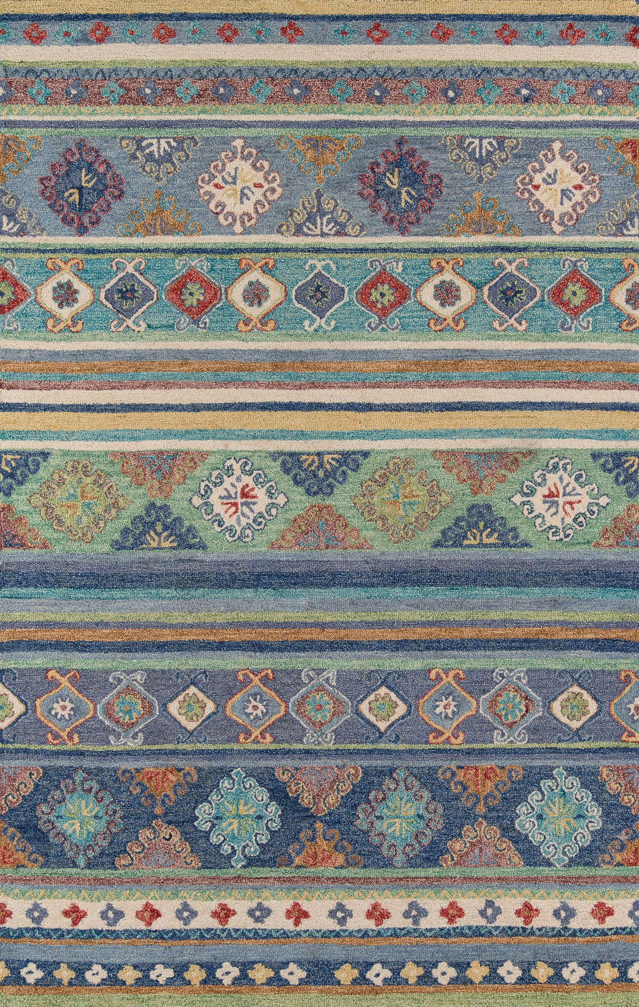 Momeni Tangier TAN32 Blue Area Rug main image