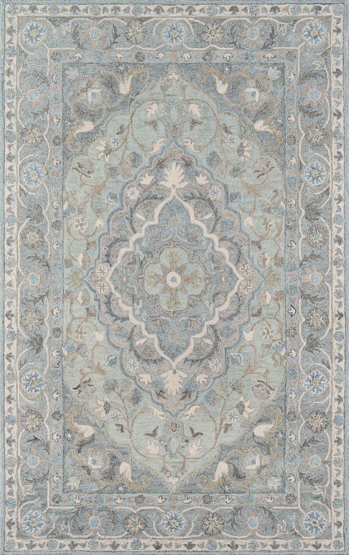Momeni Tangier TAN33 Blue Area Rug main image