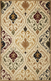 KAS Tapestry 6804 Ivory/Beige Panel Hand Tufted Area Rug
