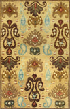KAS Tapestry 6812 Gold Ferozi Hand Tufted Area Rug
