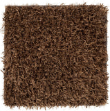 Surya Taz TAZ-1025 Chocolate Hand Woven Area Rug 16'' Sample Swatch