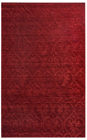 Rizzy Technique TC8268 Burgundy Area Rug