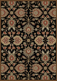 Mayberry Timeless TL3573-Viola Black Area Rug