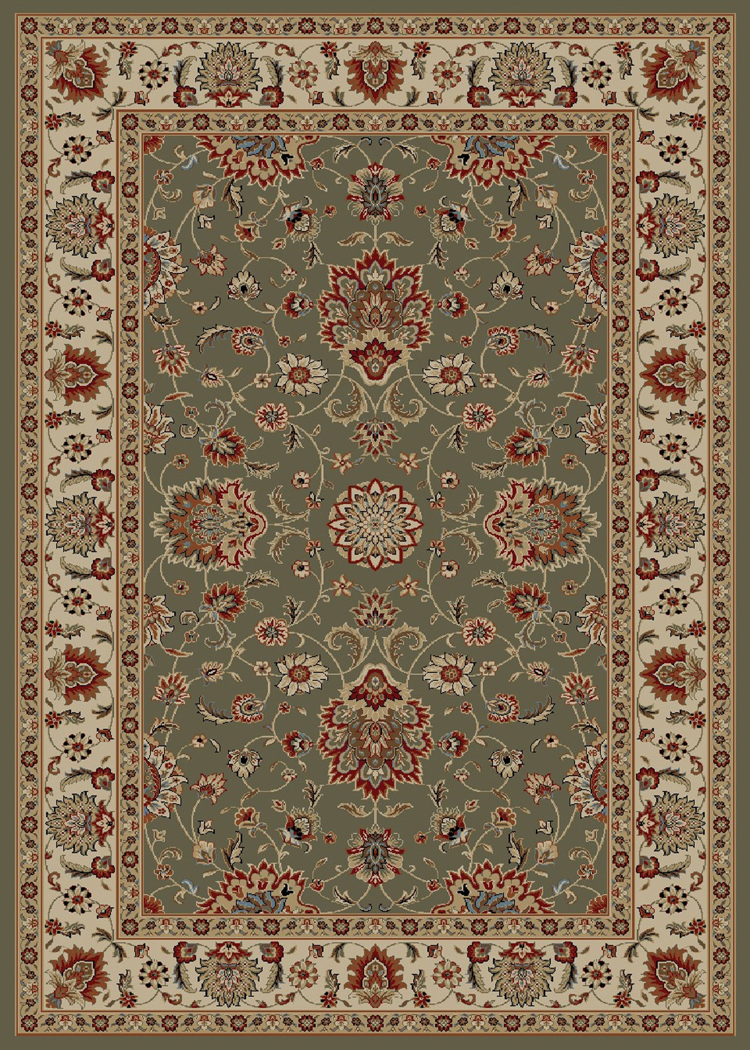 Mayberry Timeless TL3625-Olivia Sage Area Rug