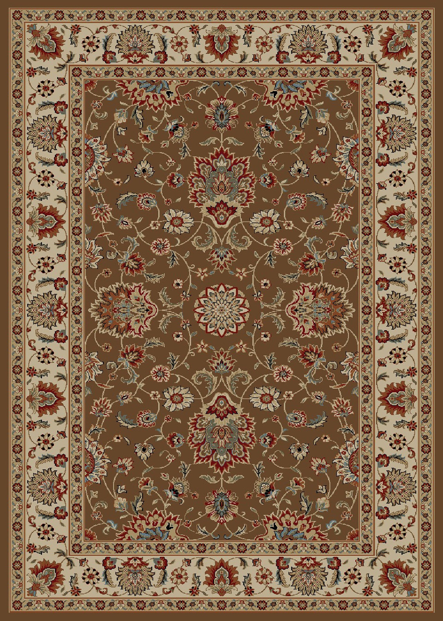 Mayberry Timeless TL3628-Olivia Chocolate Area Rug