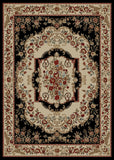 Mayberry Timeless TL3663-Vivian Black Area Rug