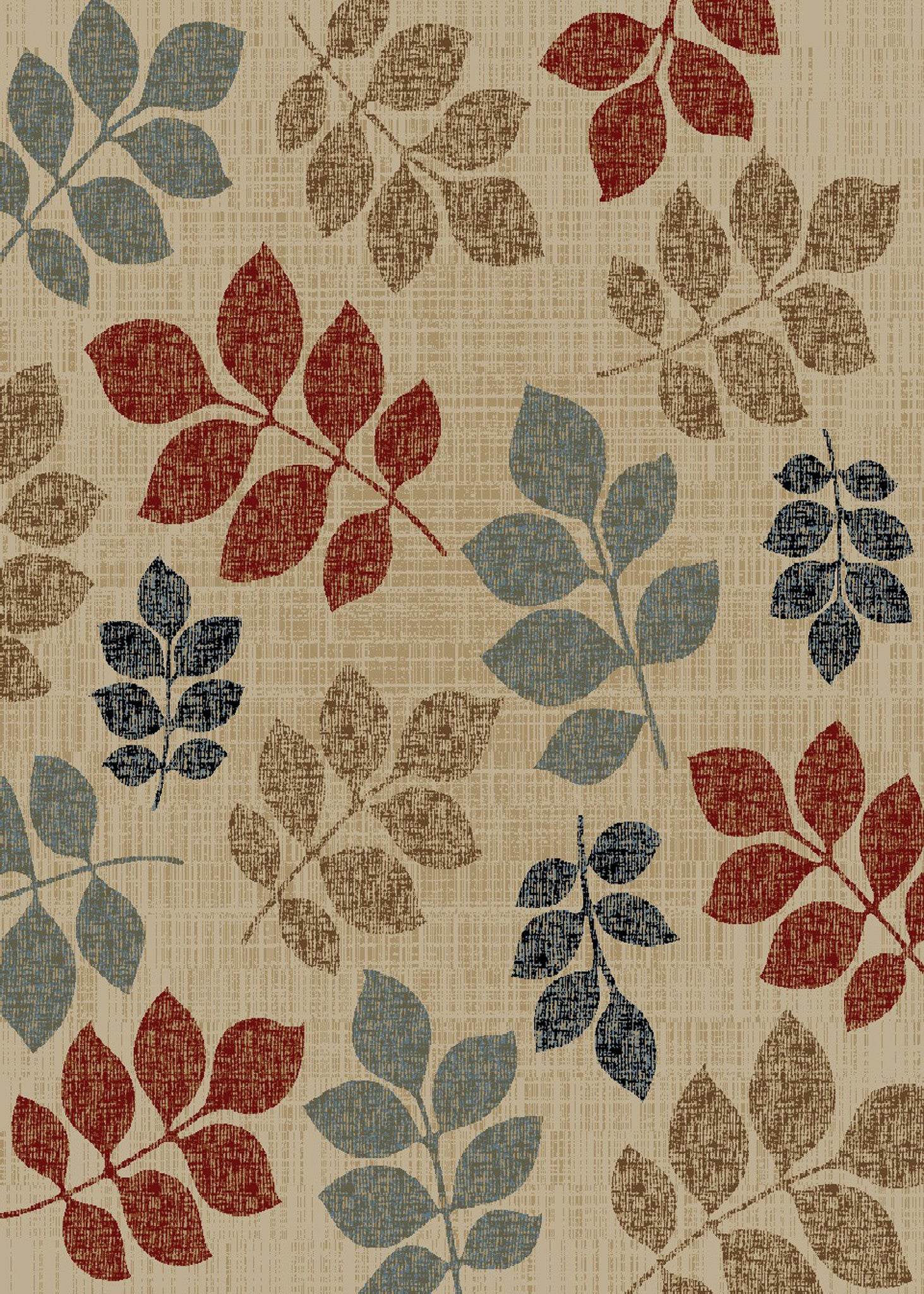 Mayberry Timeless TL3672-Leaves Of Color Multi Area Rug
