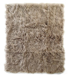 Auskin Luxury Skins Tibetan Sheepskin Throw Dune Bedding