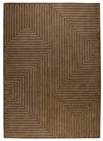 MAT Vinson Toledo Grey Brown Area Rug main image