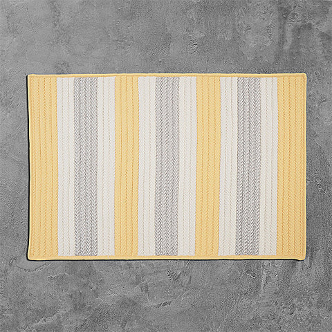 Colonial Mills Stripe It TR39 Yellow Shimmer Area Rug main image