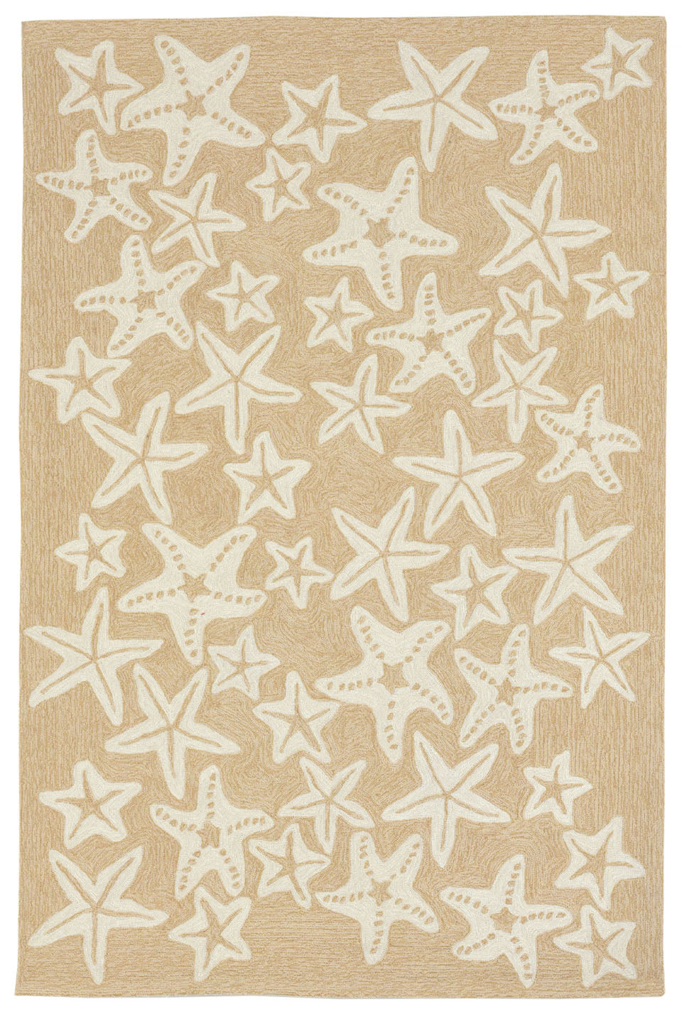 Trans Ocean Capri Starfish Natural Area Rug by Liora Manne main image