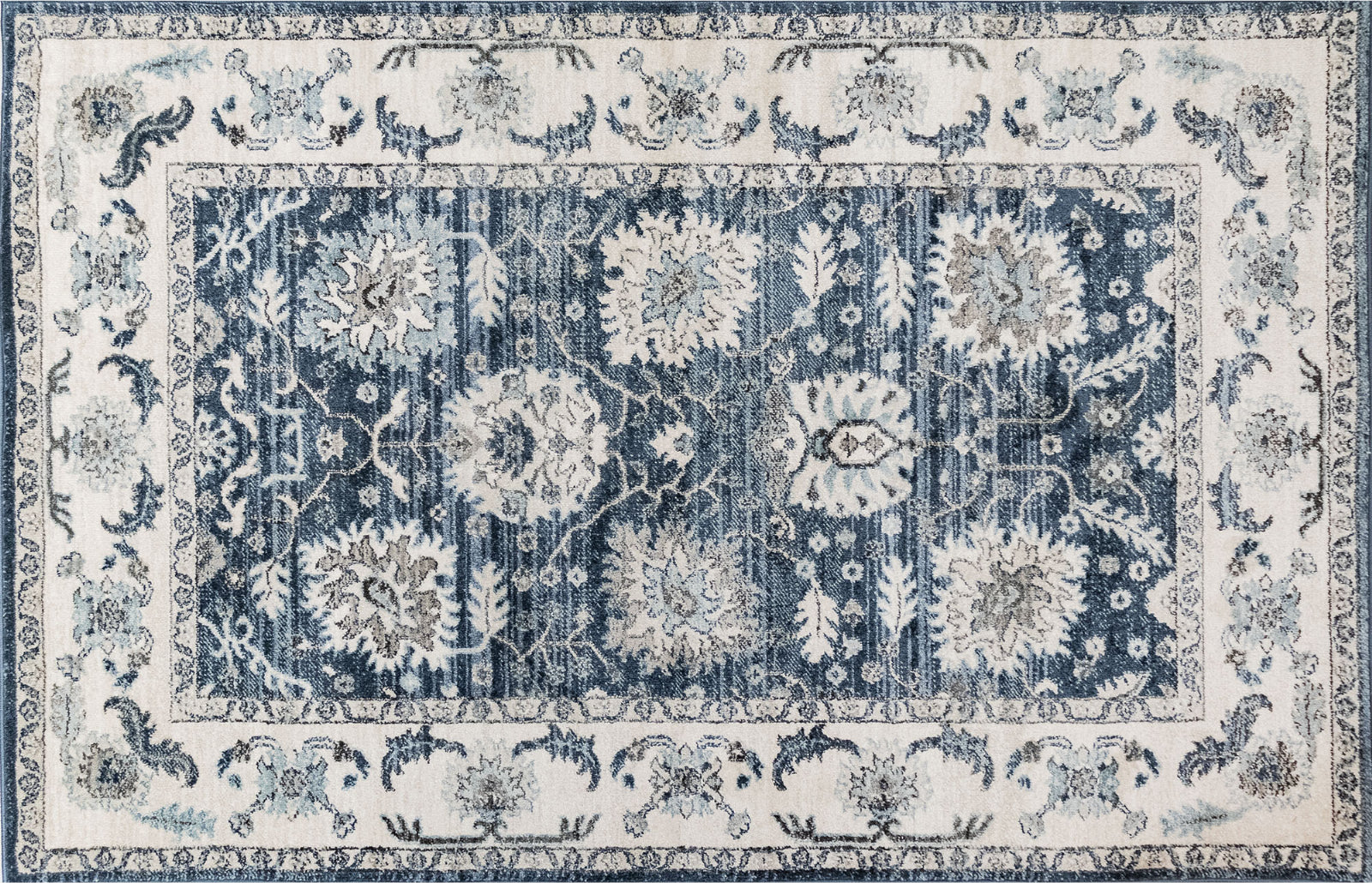 Trans Ocean Hampton Sarouk Charcoal Area Rug Mirror by Liora Manne main image