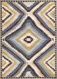 Trans Ocean Marina Anatolia Cool Area Rug Mirror by Liora Manne main image