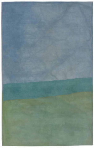 Trans Ocean Piazza Zen Green Area Rug by Liora Manne main image