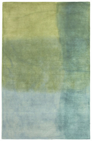 Trans Ocean Piazza Watercolors Blue Area Rug by Liora Manne main image