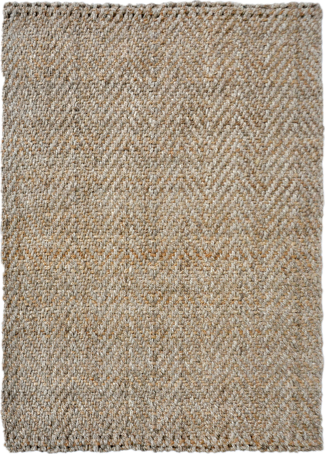 Trans Ocean Terra Chevron Natural Area Rug Mirror by Liora Manne main image