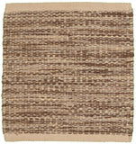 LR Resources Tribeca 04321 Gray Hand Woven Area Rug 8' x 10'