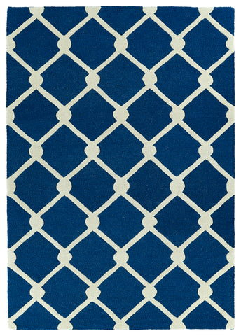 Kaleen Trends TRN01-22 Navy Area Rug main image