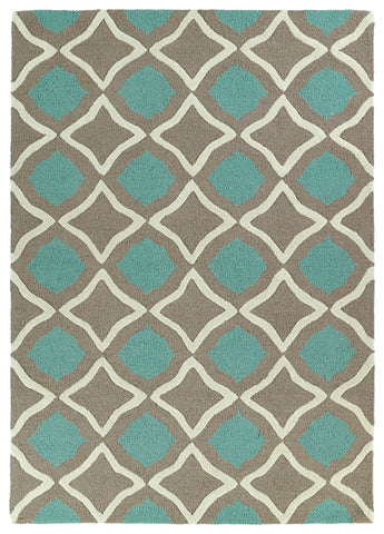 Kaleen Trends TRN04-82 Light Brown Area Rug main image
