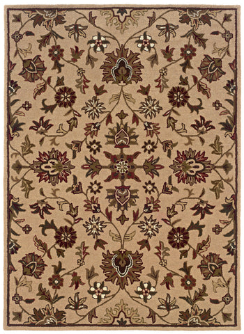 Linon Trio Traditional RUG-TT04 Gold Area Rug main image