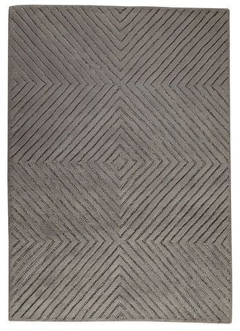 MAT Catena Union Square Grey Area Rug main image