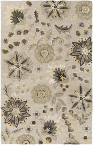Verdant VDT-1001 White Area Rug by Surya