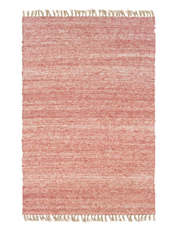 Linon Verginia Berber RUG-VE214 Red/Natural Area Rug main image