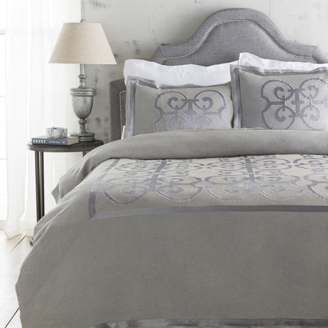 Surya Versaille VER-6002 Gray Bedding