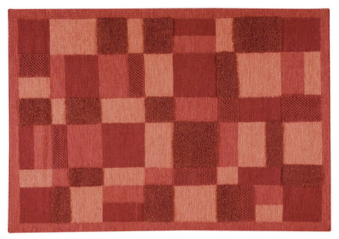 MAT Surface Veracruz Red Area Rug main image