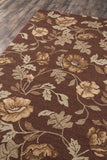 Momeni Veranda VR-24 Brown Area Rug Corner Shot