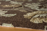 Momeni Veranda VR-24 Brown Area Rug Closeup