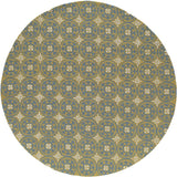 Momeni Veranda VR-26 Yellow Area Rug Closeup
