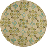 Momeni Veranda VR-29 Beige Area Rug Close up