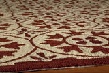 Momeni Veranda VR-30 Red Area Rug Closeup
