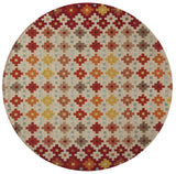 Momeni Veranda VR-43 Beige Area Rug Close up