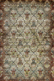 KAS Versailles 8513 Multi Damascus Machine Loomed Area Rug
