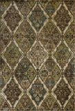 KAS Versailles 8516 Ivory Antique Panel Machine Loomed Area Rug