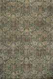 KAS Versailles 8589 Seafoam Allover Kashan Machine Loomed Area Rug