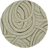 LR Resources Vibrance 03545 Cosmos Hand Tufted Area Rug 5' Round