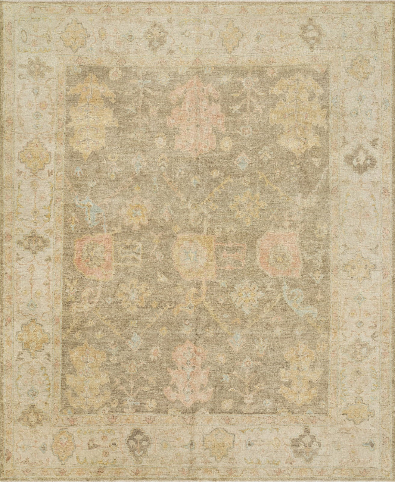 Loloi Vincent VC-02 Moss Gray/Stone Area Rug main image
