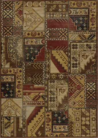 Momeni Vintage VIN-8 Tribal Gold Area Rug main image